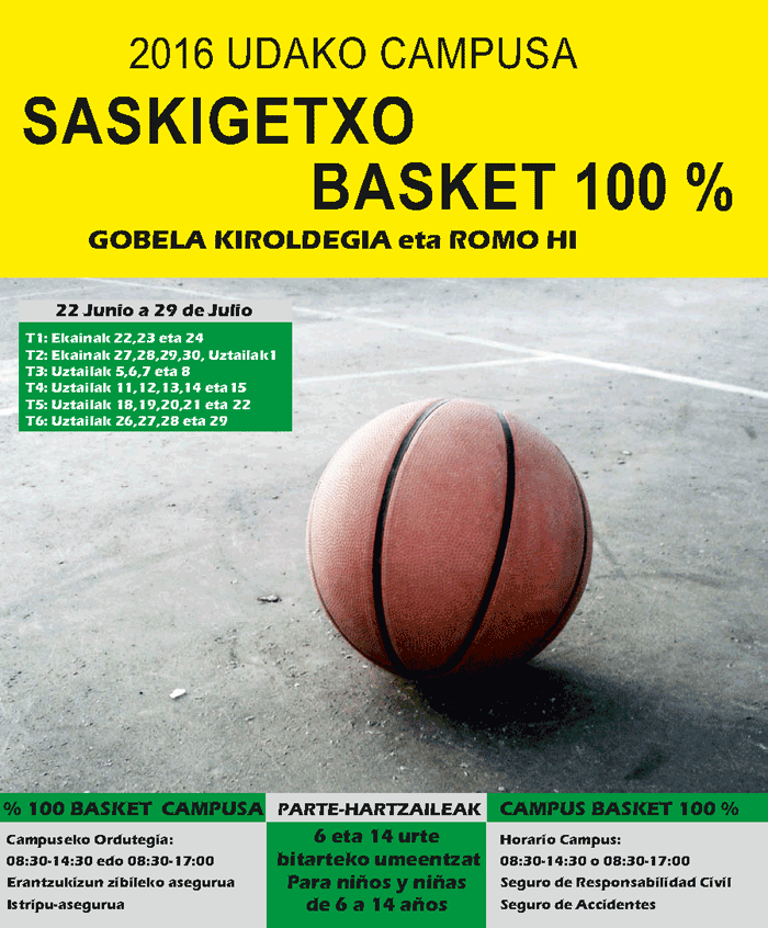 Campus UDA 2016 BASKET